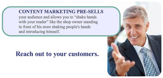 content-marketing-pre-sells-reach-out